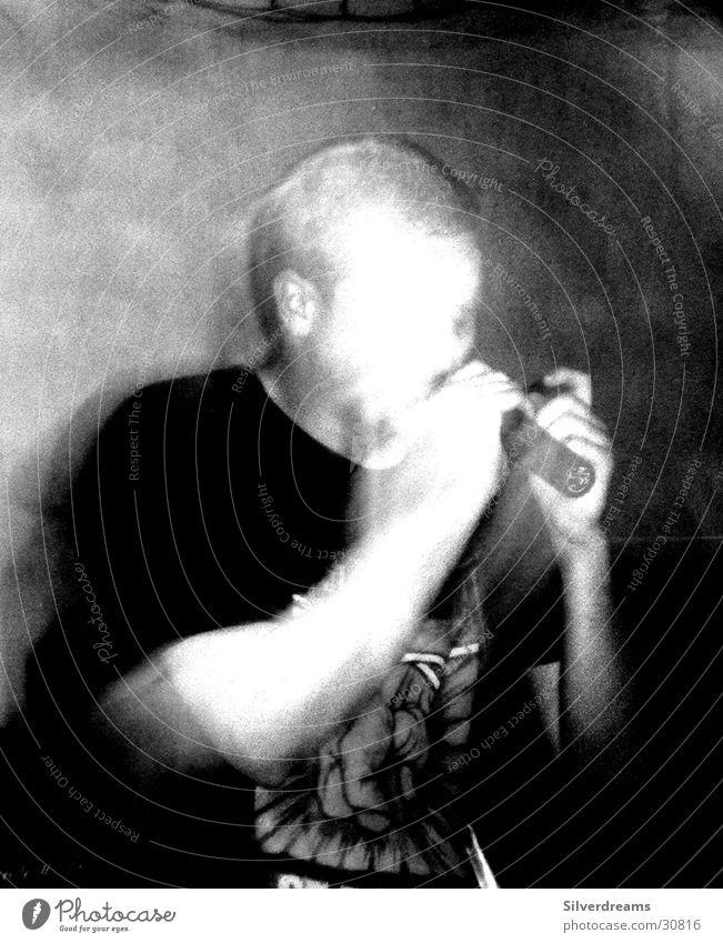 Faceless Man Mensch Mann Gesicht schreien unsichtbar Gesang