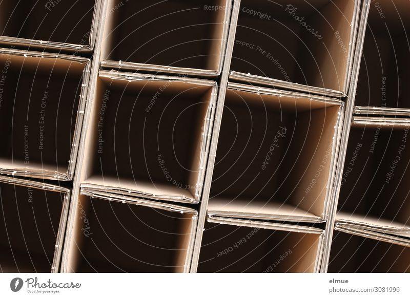 leer Karton Faltkarton Netzwerk Quadrat eckig sparsam Neugier Überraschung Gier Business Design Inspiration kaufen Kontrolle Problemlösung nachhaltig
