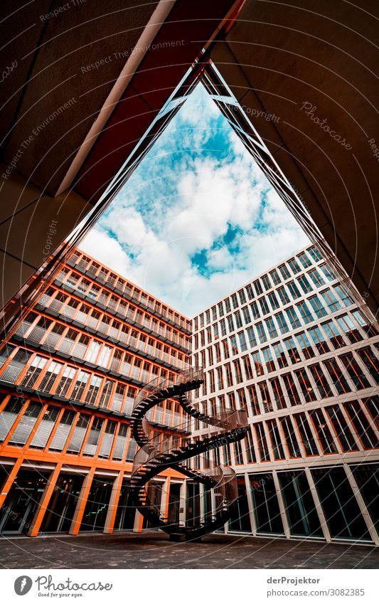 Die unendliche Treppe in München Ferien & Urlaub & Reisen Tourismus Ausflug Sightseeing Städtereise Bauwerk Gebäude Architektur Sehenswürdigkeit Wahrzeichen