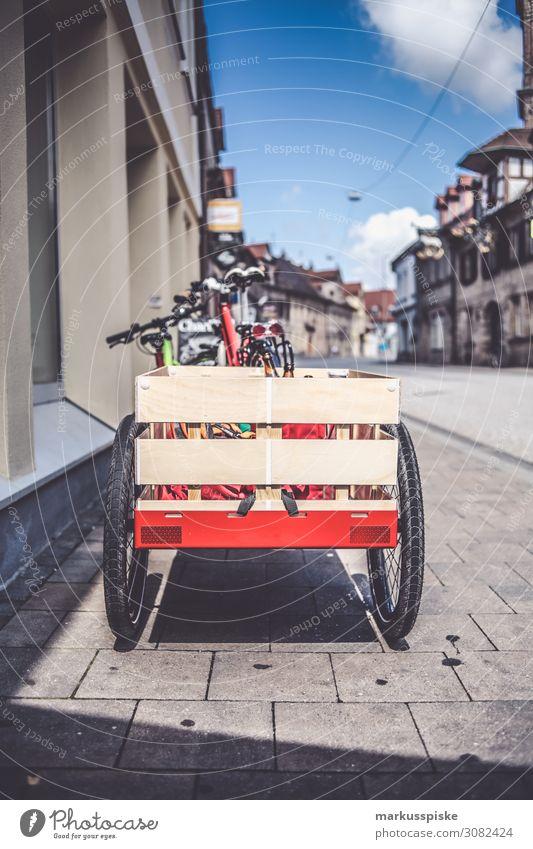 Lastenanhänger Fahrrad Lebensfreude kaufen fahren Umweltschutz nachhaltig Leichtigkeit Station Ladung