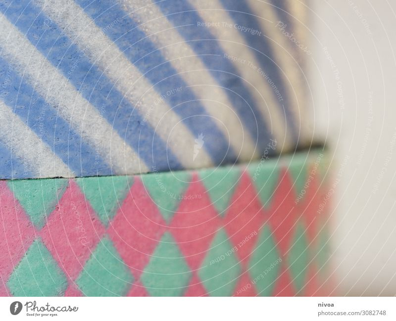 Band Maßband Klebeband Kunst Papier Farbfoto Innenaufnahme Nahaufnahme mehrfarbig Handarbeit Studioaufnahme Detailaufnahme Freizeit & Hobby Kreativität Beruf
