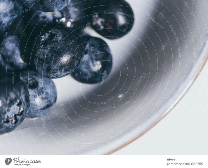 Detail einer Schale mit Heidelbeeren Natur Gesunde Ernährung blau Gesundheit Lebensmittel Essen Umwelt Senior Bewegung klein Stein Zusammensein Frucht Wohnung
