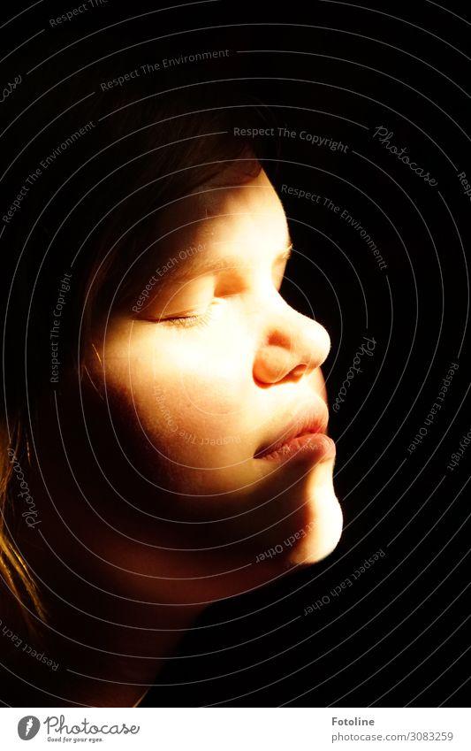 Lichtblick Mensch feminin Mädchen Jugendliche Haut Kopf Haare & Frisuren Gesicht Auge Nase Mund Lippen 1 13-18 Jahre hell nah natürlich schön genießen ruhig