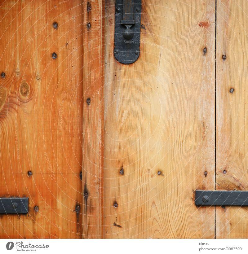 Schieberegler | MultiMixUT alt Stadt Holz Leben Angst Metall Tür Ordnung Perspektive geschlossen Neugier entdecken Schutz Sicherheit Konzentration Grenze