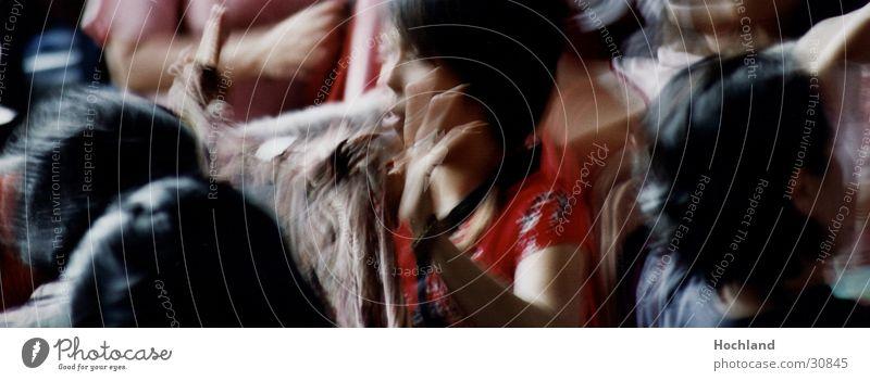 Thailand 2005 II Menschengruppe Finger Asien Markt Hand schwarzhaarig Junge Frau