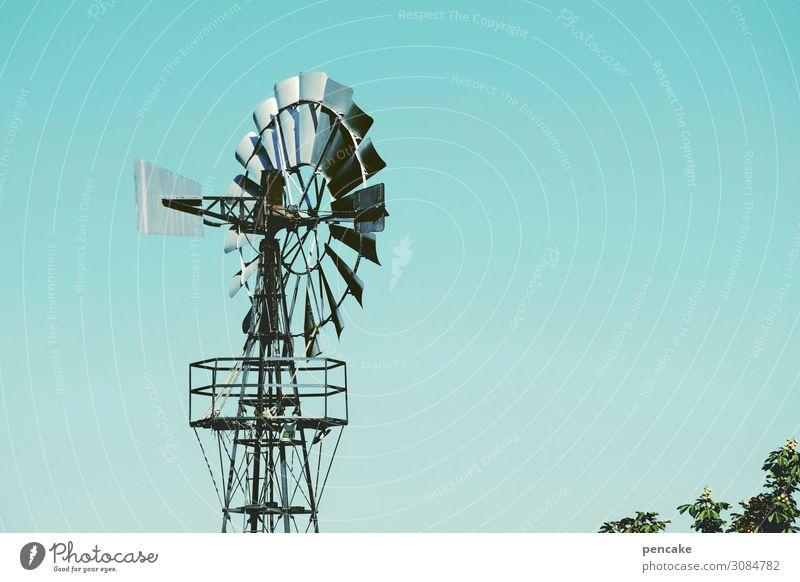wertvoll | windkraft Technik & Technologie Fortschritt Zukunft Energiewirtschaft Windkraftanlage Umwelt Natur Landschaft Urelemente Himmel Klima Schönes Wetter
