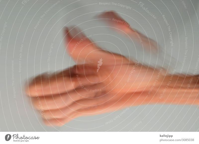 ,,,,/ Hand Finger Erfolg Daumen OK daumen hoch Doppelbelichtung thumbs up zittern parkinson Symptom Farbfoto Licht Schatten Kontrast Reflexion & Spiegelung