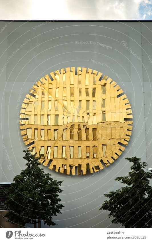 Spiegelfassade Architektur Berlin bettenhaus Büro Charité Großstadt Deutschland Fassade Froschperspektive Hauptstadt Haus Himmel Himmel (Jenseits) Hochhaus