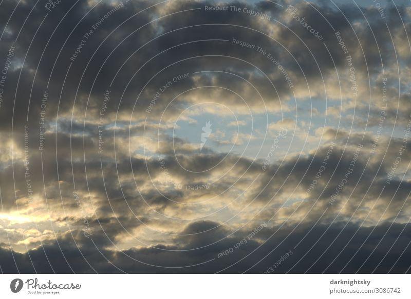 Wolken Himmel Umwelt Natur Landschaft nur Himmel Sommer Klima Klimawandel Wetter Schönes Wetter schlechtes Wetter Regen authentisch blau Stimmung Optimismus