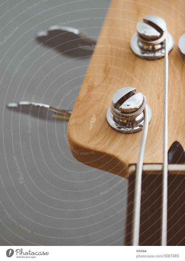 Gitarrenkopf im Ausschnitt Freizeit & Hobby Spielen Musik Skinhead Punk Rockabilly Sammlung Sammlerstück Holz Gitarrenhals Gitarrensaite berühren Musik hören