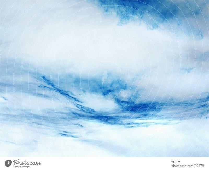 Blauer Wolkenhimmel Himmel blau