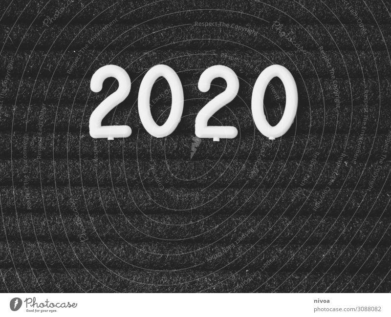 2020 Neujahr Party Feste & Feiern Silvester u. Neujahr Technik & Technologie Signboard Ziffern & Zahlen Zeichen Schriftzeichen Schilder & Markierungen