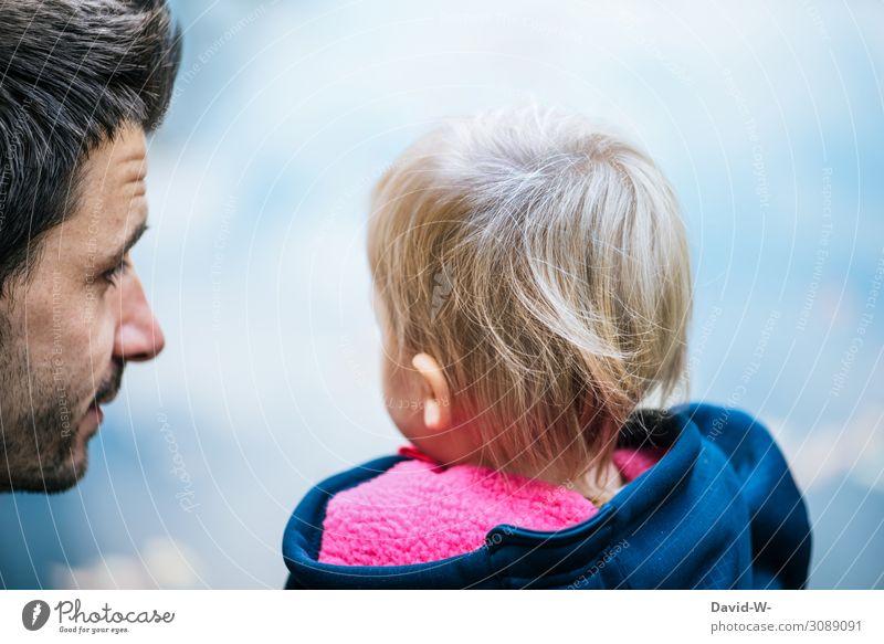 wertvoll | Eltern Kindererziehung Mensch maskulin Kleinkind Mädchen Junger Mann Jugendliche Erwachsene Vater Familie & Verwandtschaft Kindheit Leben Kopf