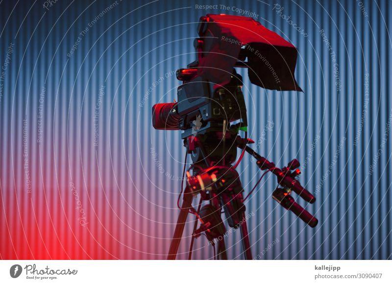 on air Hardware Videokamera Kabel Technik & Technologie Unterhaltungselektronik Fortschritt Zukunft High-Tech Informationstechnologie drehen Videodreh