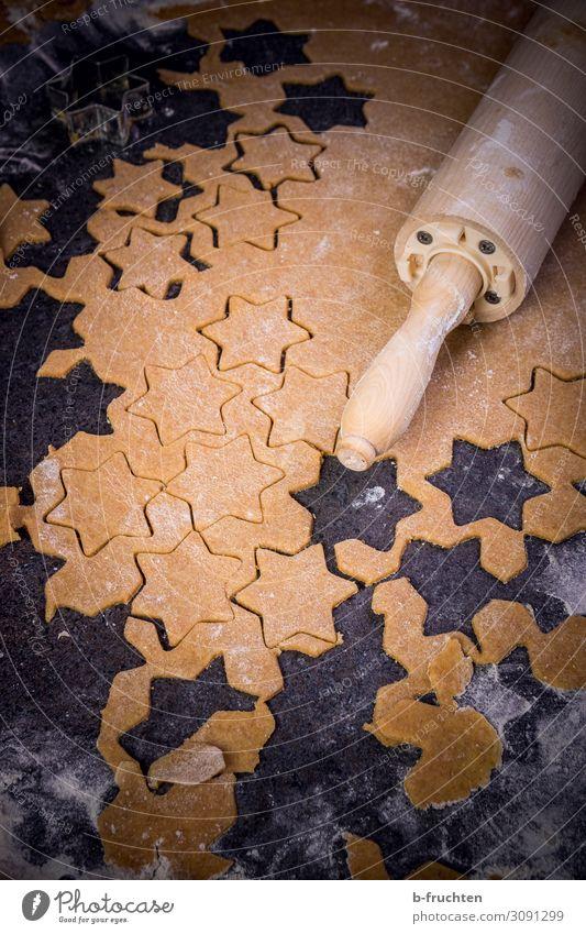 Selbermachen Weihnachten & Advent Lebensmittel natürlich Arbeit & Erwerbstätigkeit Ernährung frisch Stern (Symbol) Küche Backwaren Süßwaren wählen