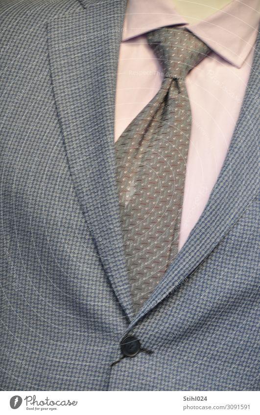 Anzug der Saison kaufen elegant Stil maskulin Mann Erwachsene 1 Mensch Mode Bekleidung Krawatte Hemd Revers Kragen Knöpfe Bildausschnitt Schaufensterpuppe