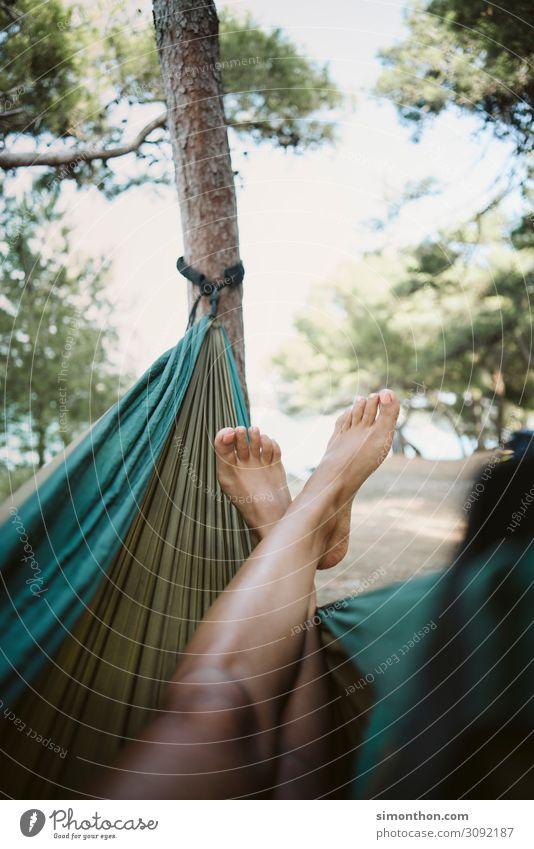 Hängematte Reichtum elegant Stil Glück Gesundheit Wellness Leben harmonisch Wohlgefühl Zufriedenheit Sinnesorgane Erholung ruhig Meditation
