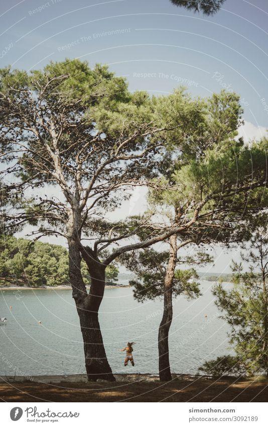 Urlaub Ferien & Urlaub & Reisen Tourismus Ausflug Abenteuer Ferne Freiheit Camping Sommer Sommerurlaub Sonne Strand Meer Insel Küste Flussufer Bucht Fjord Leben