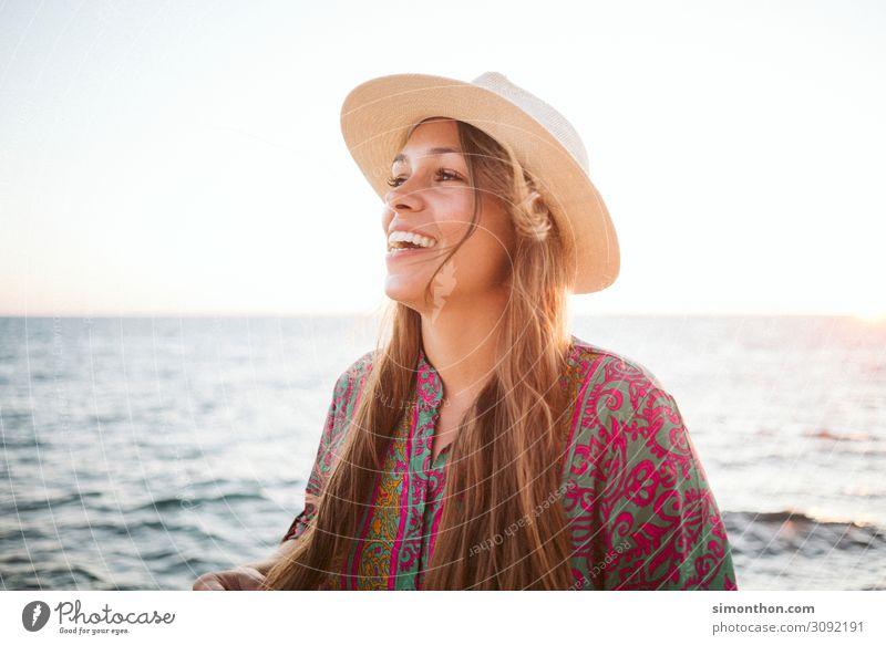 Glück Lifestyle Freude schön Leben harmonisch Zufriedenheit Erholung ruhig Ferien & Urlaub & Reisen Ferne Freiheit Sommer Sommerurlaub Sonne Sonnenbad Meer