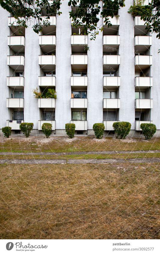 Neubau (hoch) Architektur Berlin Großstadt Haus Hochhaus Stadtzentrum Vorstadt reinickendorf siemensstadt modern Block Plattenbau Etage Mehrfamilienhaus