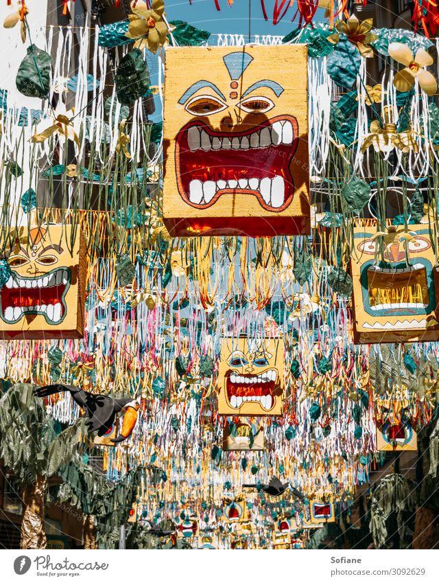 Gracia Festival Ferien & Urlaub & Reisen Tourismus Abenteuer Freiheit Sightseeing Städtereise Sommer Sommerurlaub Sonne Feste & Feiern Karneval Kunst Tanzen