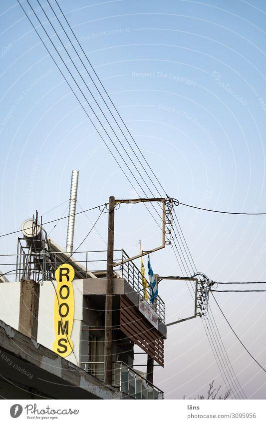 Rooms for rent Ferien & Urlaub & Reisen Tourismus Energiewirtschaft Sonnenenergie Insel Kreta Griechenland Haus Mauer Wand Balkon Erwartung Konkurrenz