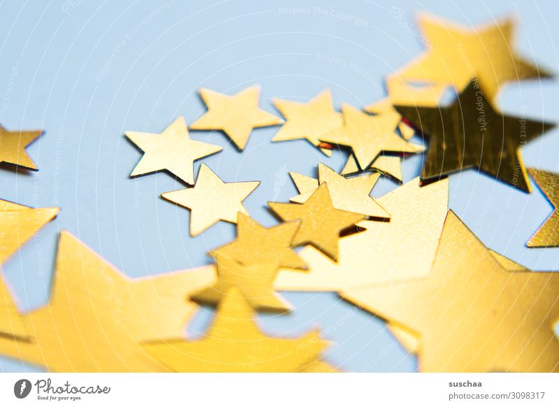sterne (2) Stern (Symbol) viele Verschiedenheit Größenunterschied gezackt Dekoration & Verzierung Reflexion & Spiegelung Weihnachten & Advent