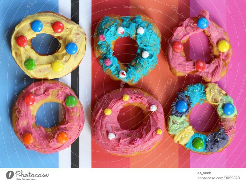 Tasty Teigwaren Backwaren Kuchen Süßwaren Schokolinsen Liebesperle Zuckerguß Krapfen Lifestyle Design Freude Dekoration & Verzierung Küche Feste & Feiern