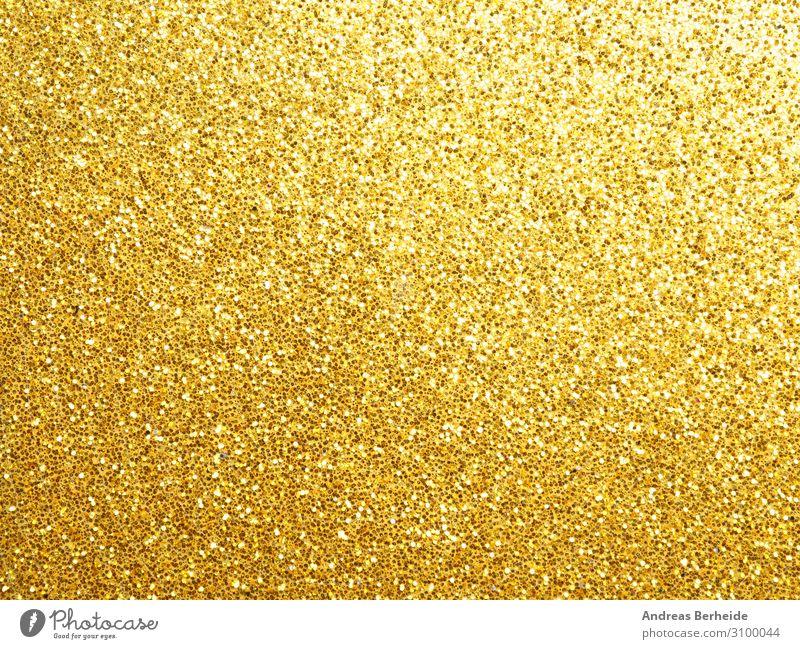Glitzer in Gold Stil Weihnachten & Advent Dekoration & Verzierung gelb gold abstract Hintergrundbild beautiful golden blur bright celebration circle color