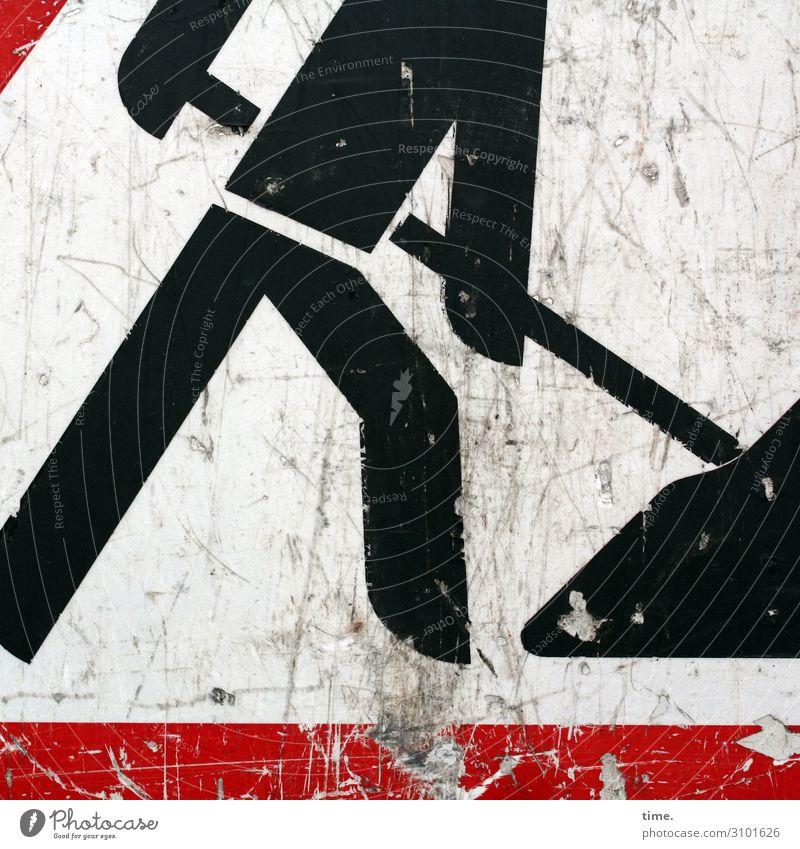 *7.500* Schaufeln Fotos für die immer noch angenehmste Bildagentur der Welt baustelle schild bauarbeiter schwarz trashig schmutzig benutzt gebraucht piktogramm