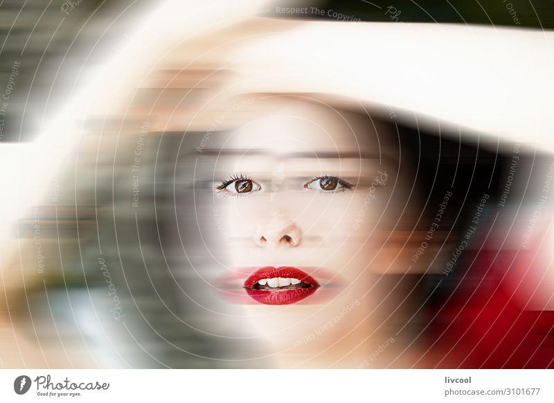 Frau Mensch Natur Jugendliche Junge Frau Sommer schön weiß rot Hand 18-30 Jahre Gesicht Auge Lifestyle Erwachsene feminin