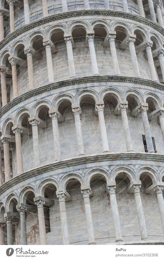 Der schiefe Turm von Pisa. Lifestyle Stil Design Ferien & Urlaub & Reisen Tourismus Ausflug Sightseeing Städtereise Bildung Erwachsenenbildung Wirtschaft