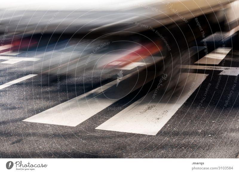 Lieferverkehr Güterverkehr & Logistik Mittelstand Verkehr Verkehrsmittel Verkehrswege Straßenverkehr Autobahn Lastwagen Zeichen fahren Geschwindigkeit Bewegung