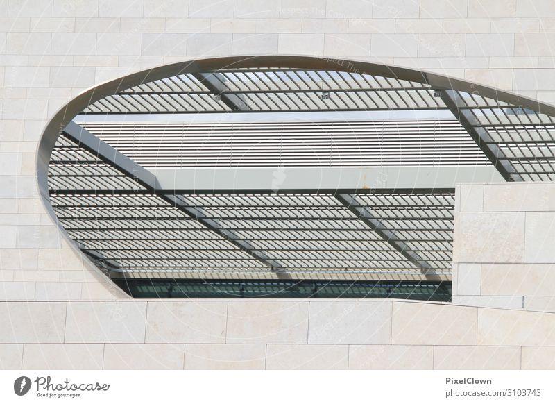 Fenster zum Himmel Ferien & Urlaub & Reisen schön weiß Architektur Gebäude Tourismus Stimmung Häusliches Leben Ausflug Baustelle Sehenswürdigkeit Bauwerk