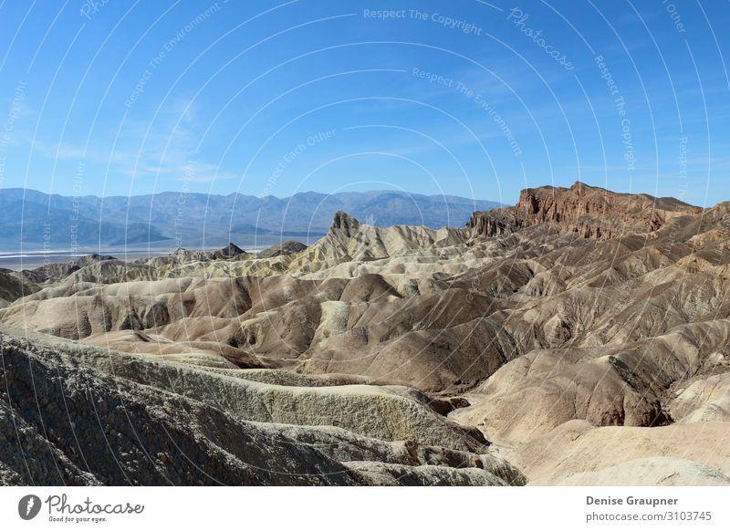 Death Valley National Park in the United States Ferien & Urlaub & Reisen Umwelt Natur Landschaft Pflanze Himmel Schönes Wetter Berge u. Gebirge Frieden america