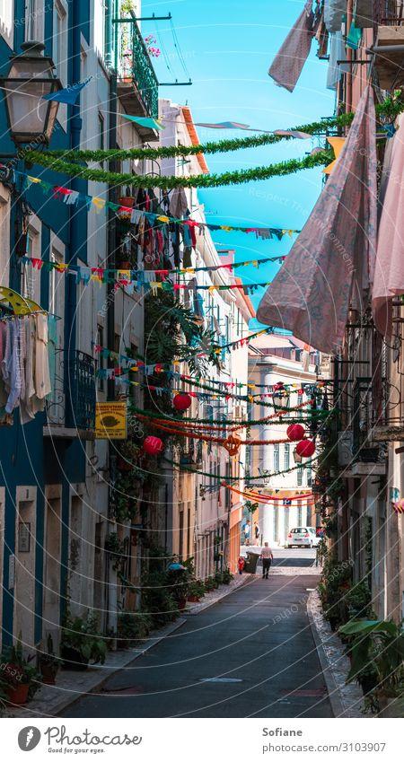 Farben & Feste Lifestyle Stil exotisch Freude schön Ferien & Urlaub & Reisen Tourismus Ausflug Abenteuer Sightseeing Städtereise Fenster Balkon Bekleidung