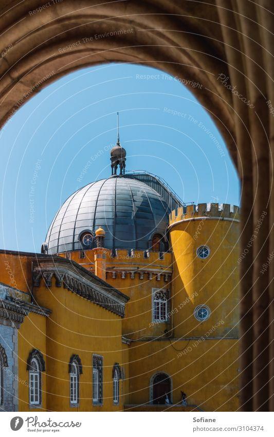 Pena Palast exotisch Freude schön Freizeit & Hobby Ferien & Urlaub & Reisen Tourismus Ausflug Abenteuer Sightseeing Städtereise Sommer Sommerurlaub Sonne Dach