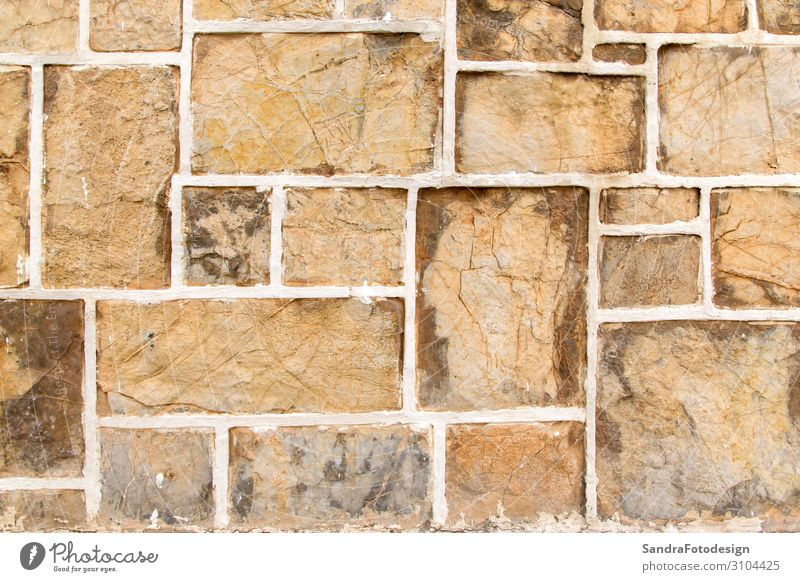 A texture of stones, also suitable as a background Design Häusliches Leben Natur Mauer Wand retro aged aging ancient antique architecture Hintergrundbild brick
