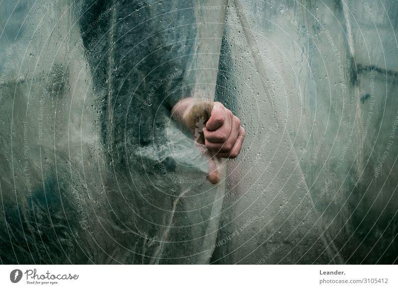 Faust Mensch maskulin Haut Hand Finger 18-30 Jahre Jugendliche Erwachsene 30-45 Jahre alt gruselig Horrorfilm Filmmaterial stoppen festhalten Statue Farbfoto