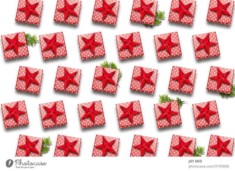 Weihnachtsgeschenkboxen Muster. Weihnachtseinkaufen Design Dekoration & Verzierung Feste & Feiern Weihnachten & Advent Silvester u. Neujahr Geburtstag Kunst