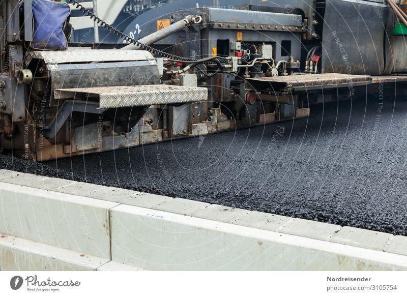 Straßenbau Arbeit & Erwerbstätigkeit Beruf Arbeitsplatz Baustelle Wirtschaft Güterverkehr & Logistik Werkzeug Maschine Baumaschine Technik & Technologie Verkehr