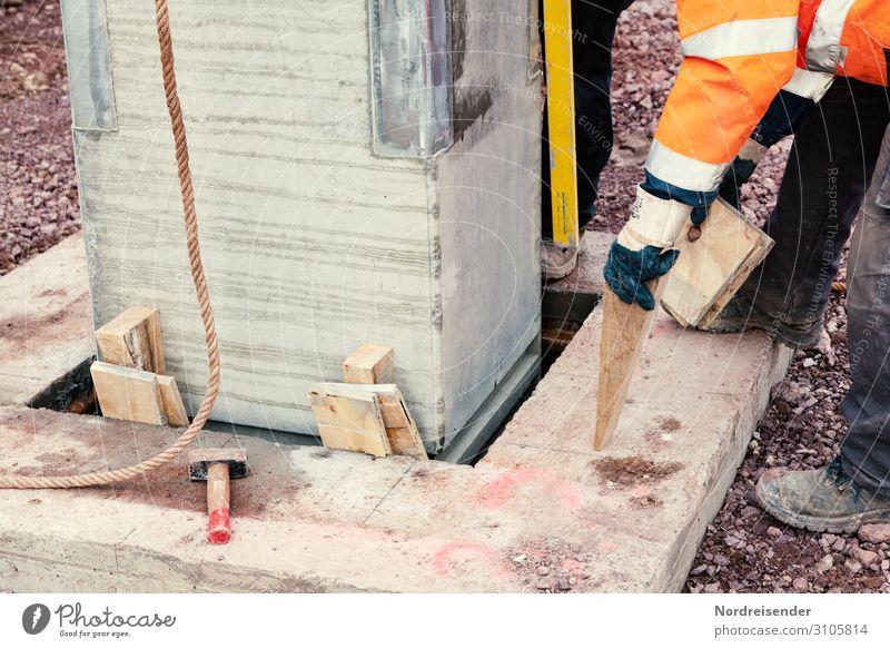 Industriebau Mensch Architektur Arbeit & Erwerbstätigkeit Beton Baustelle Güterverkehr & Logistik neu Bauwerk Beruf Wirtschaft Handwerk Arbeitsplatz