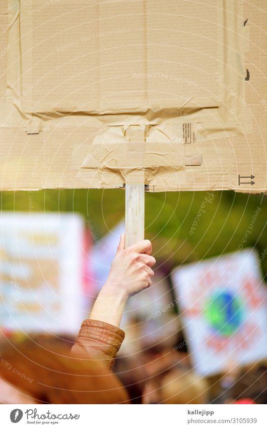dagegen halten Mensch Arme Hand Finger Menschenmenge Umwelt Natur Klima Klimawandel Stadt Entschlossenheit Demonstration stoppen Schilder & Markierungen