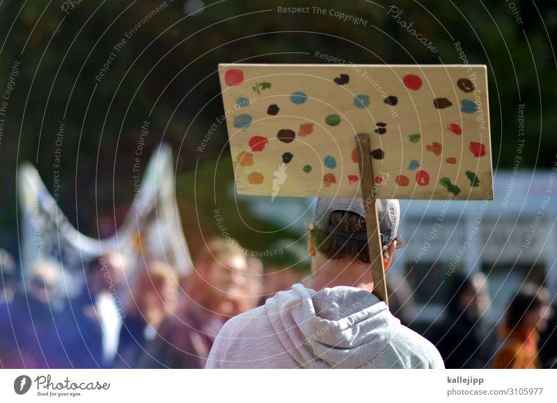 schilderwald Mensch Natur sprechen Umwelt Schilder & Markierungen Zukunft Klima Meinung Politik & Staat Menschenmenge Klimawandel demokratisch Frustration