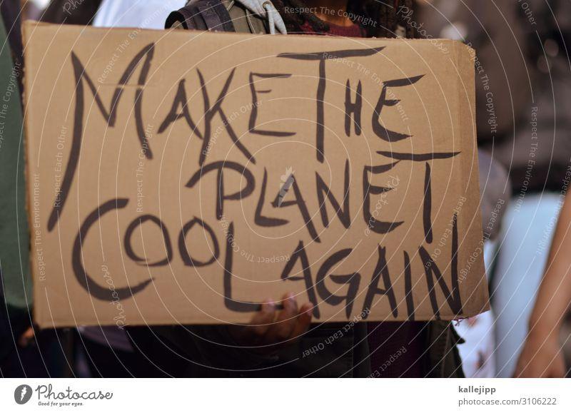 cool down Mensch Hand Finger Menschenmenge Umwelt Natur Klima Klimawandel Wetter Zeichen Schriftzeichen Bewegung Demokratie Demonstration greta thunberg