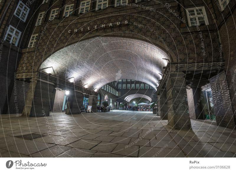 Chilehaus in Hamburg Lifestyle Design Ferien & Urlaub & Reisen Tourismus Sightseeing Städtereise Nachtleben Bildung Wissenschaften Erwachsenenbildung