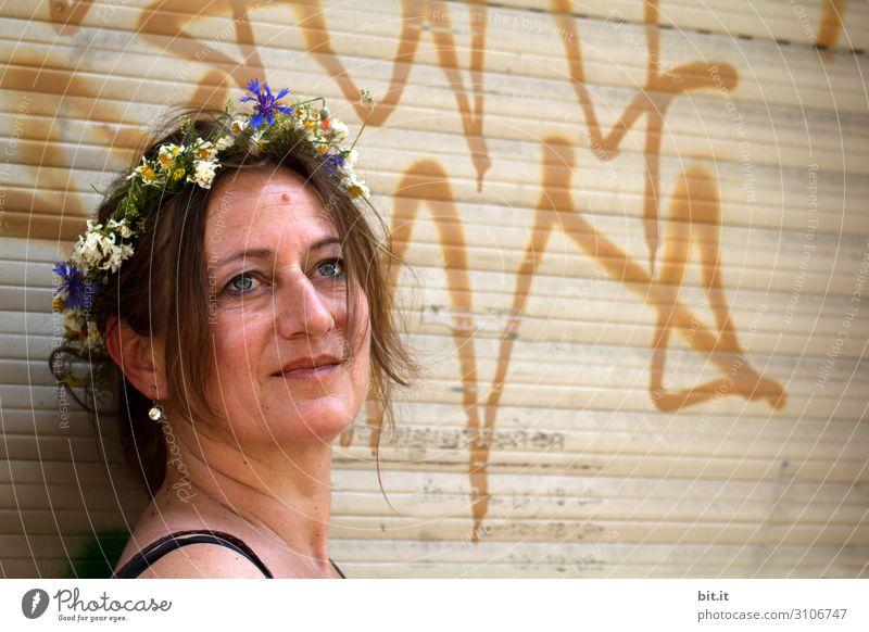 Blumenkind Lifestyle Gesundheit Ferien & Urlaub & Reisen Tourismus Ausflug Feste & Feiern Muttertag Hochzeit Geburtstag Mensch feminin Frau Erwachsene Leben