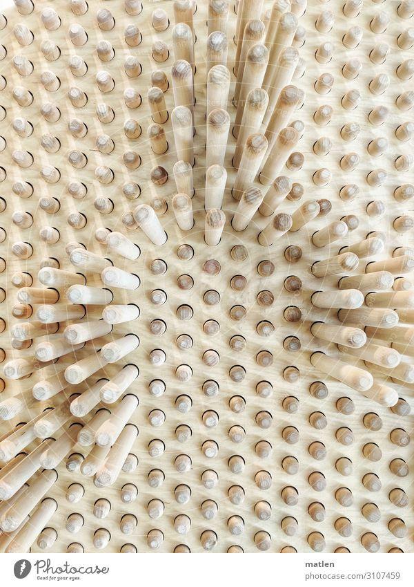 Struktur Holz braun grau Schattenspiel Zapfen stecken