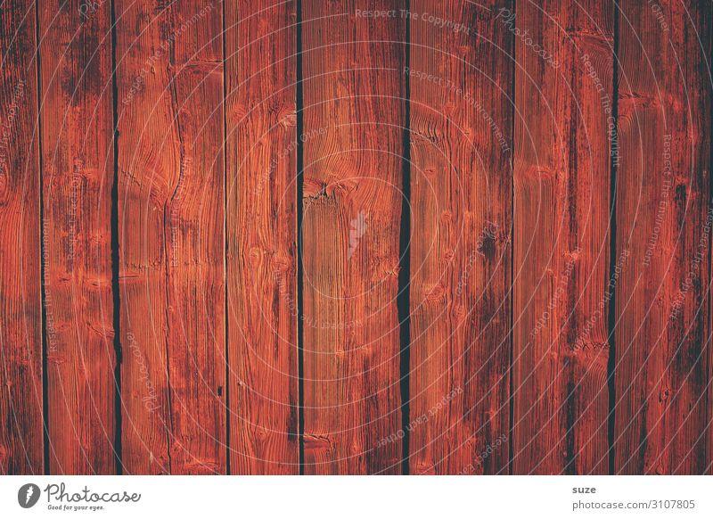 Falunrot Mauer Wand Fassade Holz Linie Streifen alt authentisch einfach trist trocken Wärme Farbe Schweden Farbstoff Anstrich Zaun Holzbrett Hintergrundbild