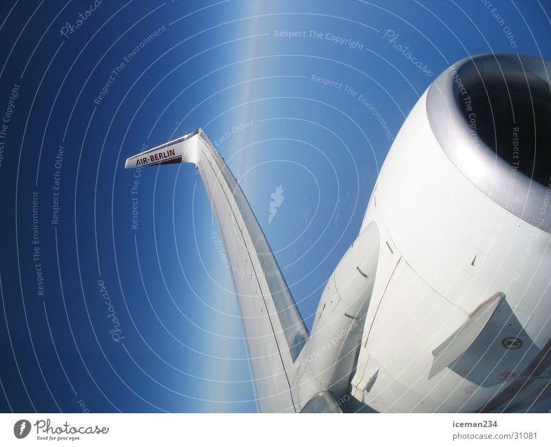 Luft Raum Kraft Flugzeug Ferien & Urlaub & Reisen ruhig Luftverkehr Himmel